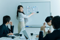 日本人ビジネスパーソンの会議