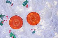 クリスマスのロゼワイン