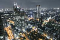 東京都 新宿の夜景