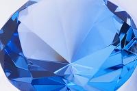 ダイヤモンドのカットのクリスタル