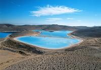イスラエル 砂漠の池