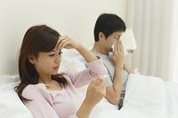 体調不良の夫婦