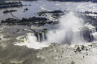 アルゼンチン ブラジル イグアスの滝