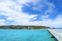 沖縄県 古宇利島に架かる古宇利大橋