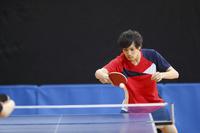 男子卓球選手