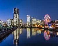神奈川県 横浜 みなとみらい クリスマス点灯