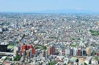 東京都 新宿から杉並・調布方面の展望