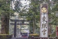 栃木県 日光東照宮 石鳥居