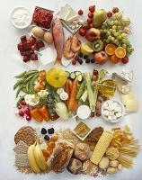 食べ物の集合