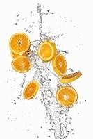 スライスされたオレンジ