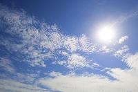 太陽と青空