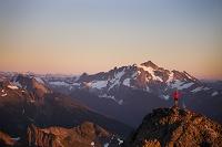 アメリカ ノース・カスケード国立公園 登山者