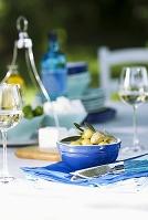 ギリシャ テーブルコーディネート