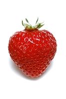 1個のイチゴ(あまおう)