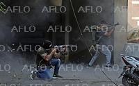 レバノン・ベイルートで銃撃戦