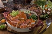 越前蟹の鍋