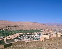 モロッコ カスバ街道 村 市場