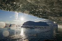 グリーンランド ヤコブスハブン氷河