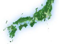 西日本エリア衛星画像 白背景