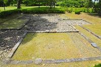 愛知県 名古屋城 二之丸庭園の霜傑亭発掘跡