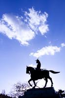 伊達政宗騎馬像 仙台市