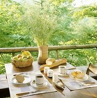 旅での朝食イメージ