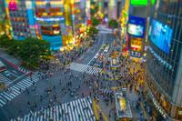 渋谷交差点チルトシフト