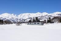 長野県 北アルプスと大糸線