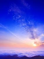 長野県 山並み