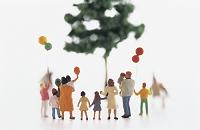 フィギュア 一本の木とファミリー