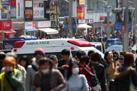 東京都上野 救急車