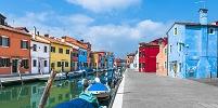 イタリア ブラーノ島 家並み