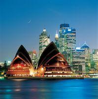 オーストラリア  シドニー  オペラハウス