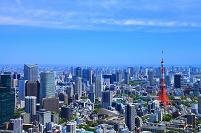 東京都 六本木ヒルズより浜松町方面