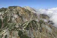 長野県 唐松岳から白馬連峰
