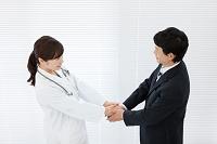 医者とビジネスマン