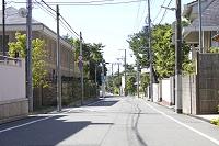 兵庫県 芦屋山手の住宅街