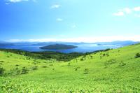 北海道 美幌峠より屈斜路湖俯瞰