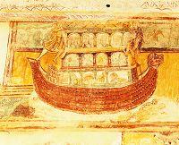 フレスコ画 ノアの箱舟