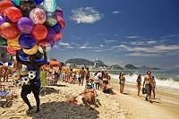 ブラジル リオデジャネイロ 夏のコパカバーナ