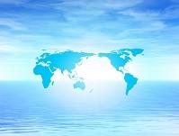 世界地図イメージ CG