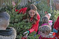 キャサリン妃、子どもたちとクリスマス準備