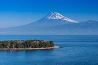 静岡県 駿河湾 大瀬崎と富士山