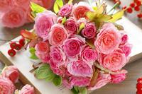 バラの花と実