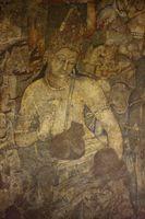 アジャンタ石窟 第1窟 蓮華手菩薩 アジャンタ インド