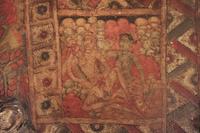 インド エローラ石窟群 第32窟 ジャイナ教窟 2階 天井画