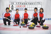 カーリングの女性チーム