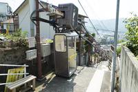 斜面移送システム 天神町(懸垂型)「てんじんくん」 バリアフリー