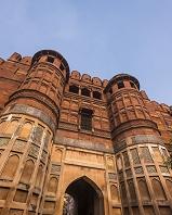 インド アグラ城 城門