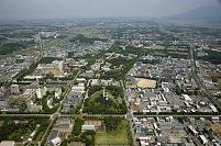茨城県 つくば市市街地より筑波大学